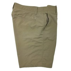 Under Armour Tan Match Play Golf Shorts 38 1253487